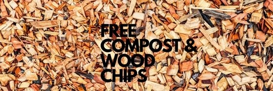 Free compost & wood chips