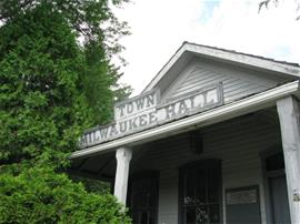 Town Hall sign