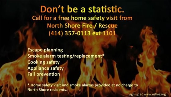Fire Safety - Don't Be A Statistic