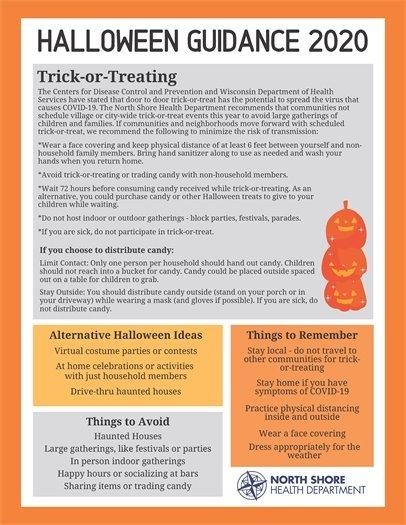Halloween Guidance 2020