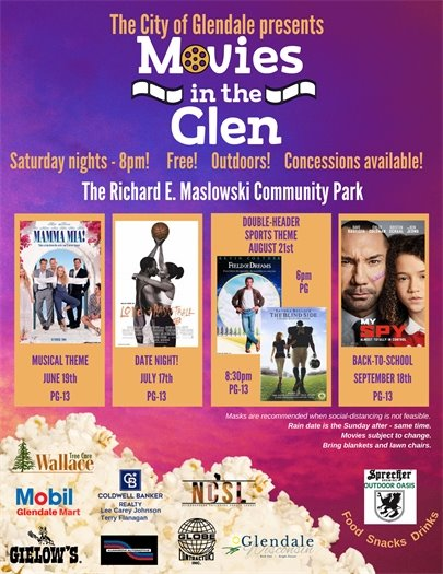 Movies in the Glen